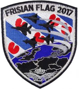 Missionpatch Frisian Flag 2017