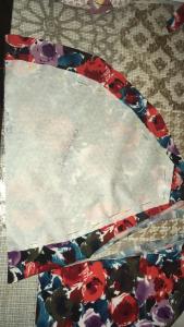 patroon overnemen op stof