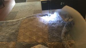 boxkleed maken fiberfill