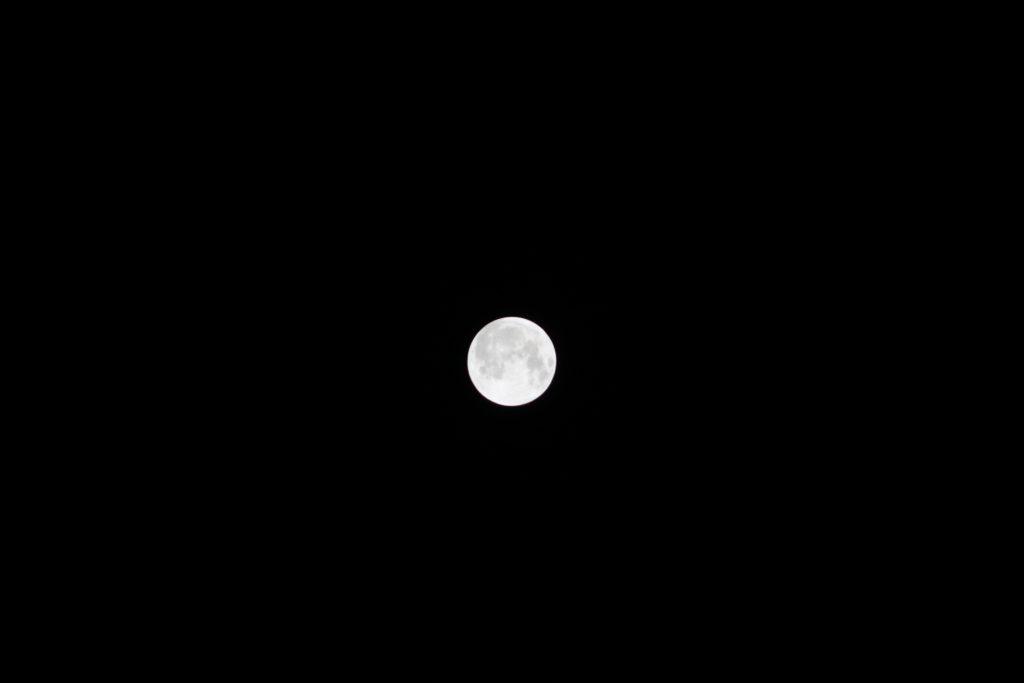 Volle (onverduisterde) maan