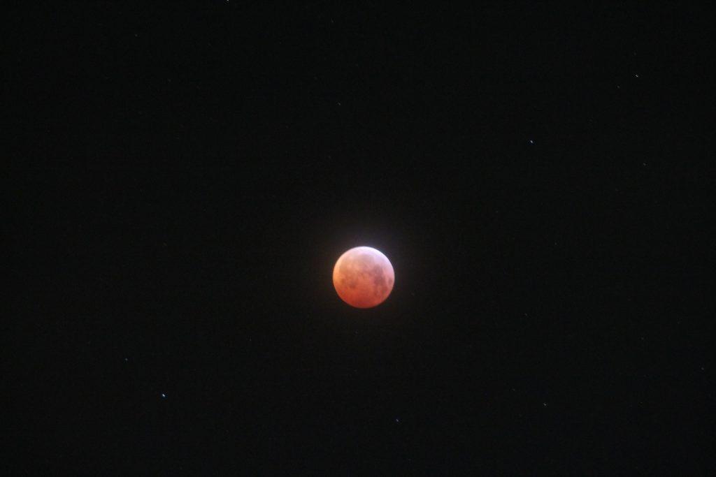 Maximale eclipse om 06.13 uur
